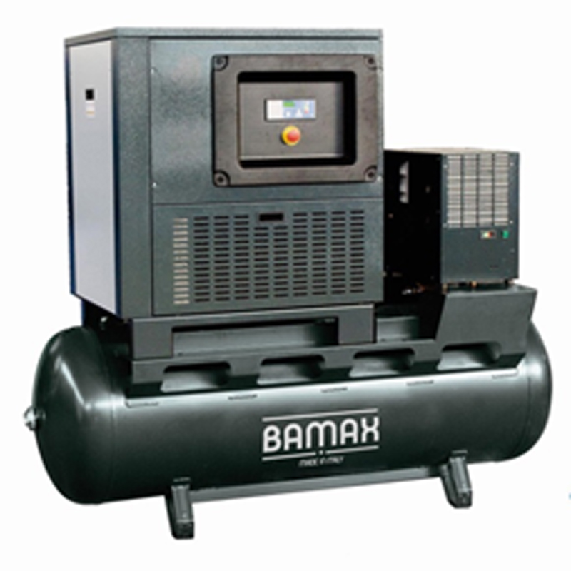 BAMAX Screw Air Compressor On Tank