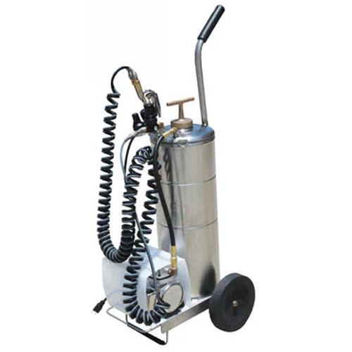 Cart-Mounted Portable Aerosol System