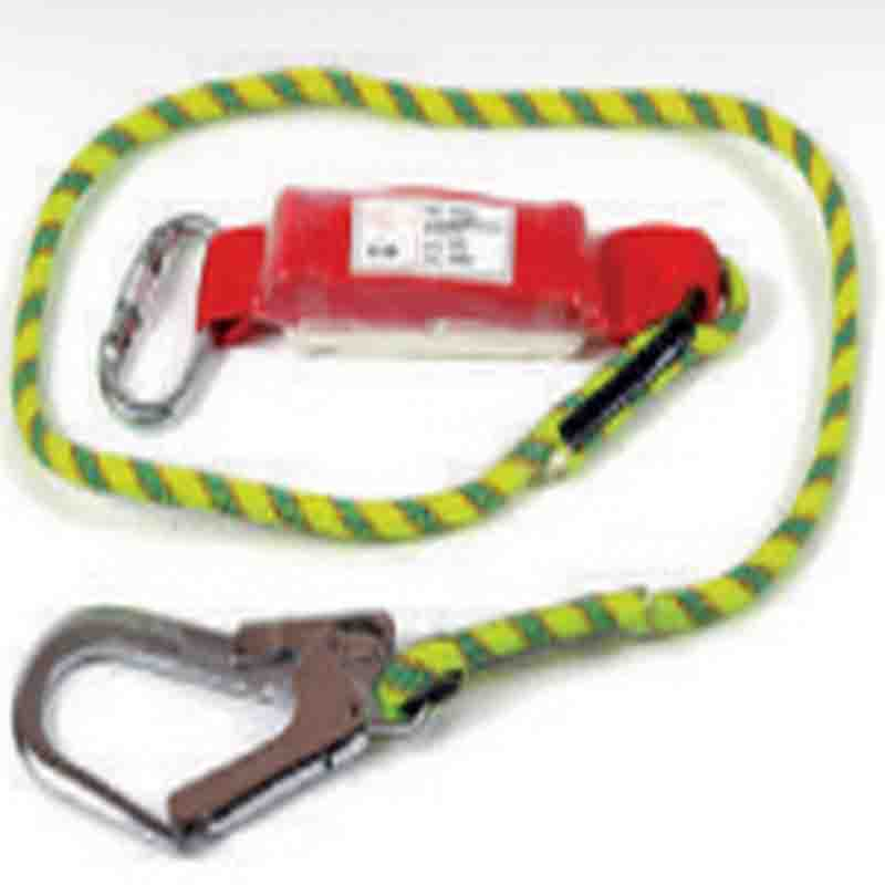 CIG Lanyard 19653-Braided Rope Type Shock Absorbing Lanyard