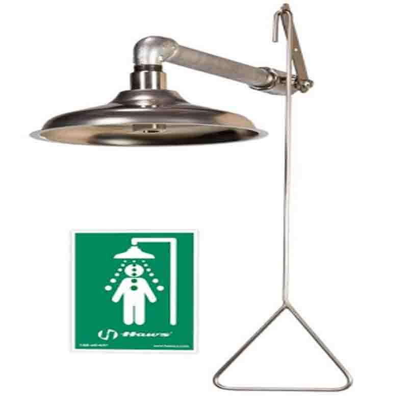 Haws AXION® MSR Emergency Drench Shower 8123