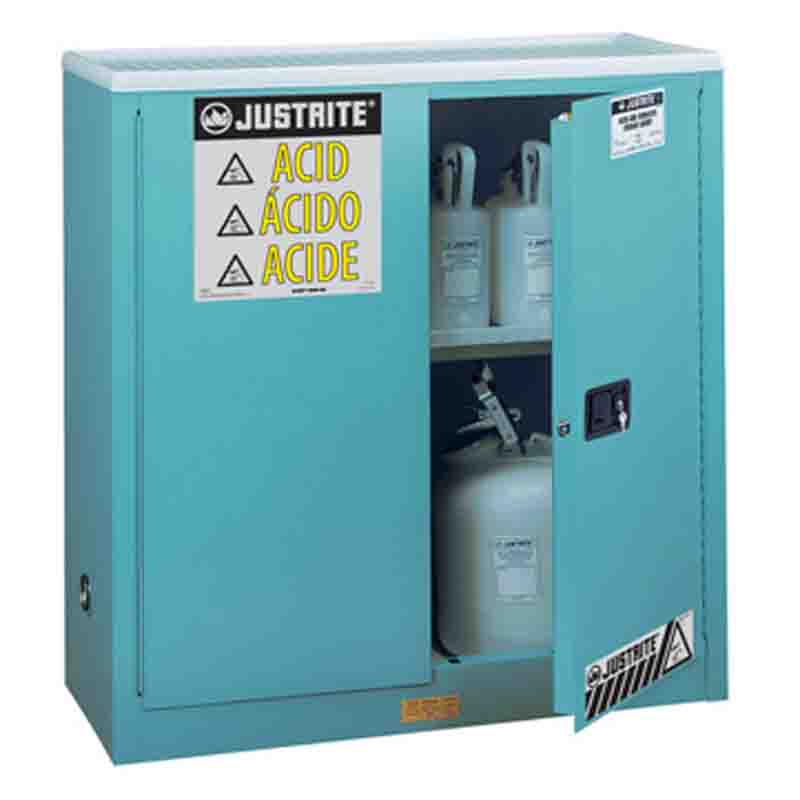 Justrite 893002 CORROSIVE SAFETY CABINET 30 GAL
