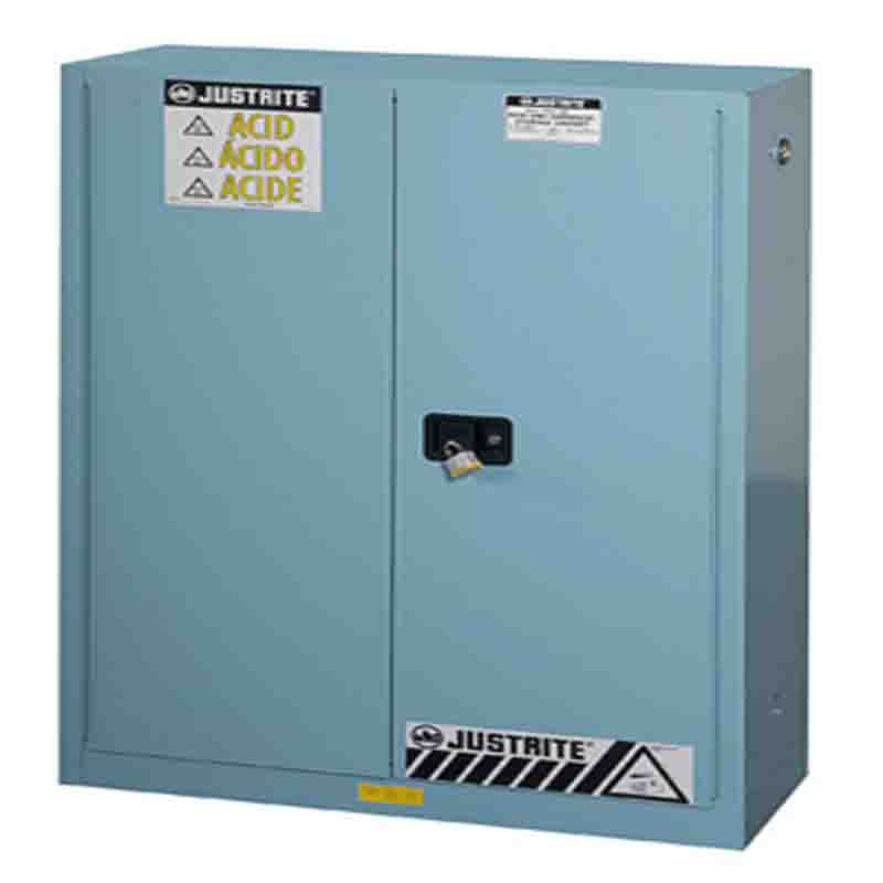 Justrite  894502 CLASSIC CORROSIVE SAFETY CABINET 45 GAL