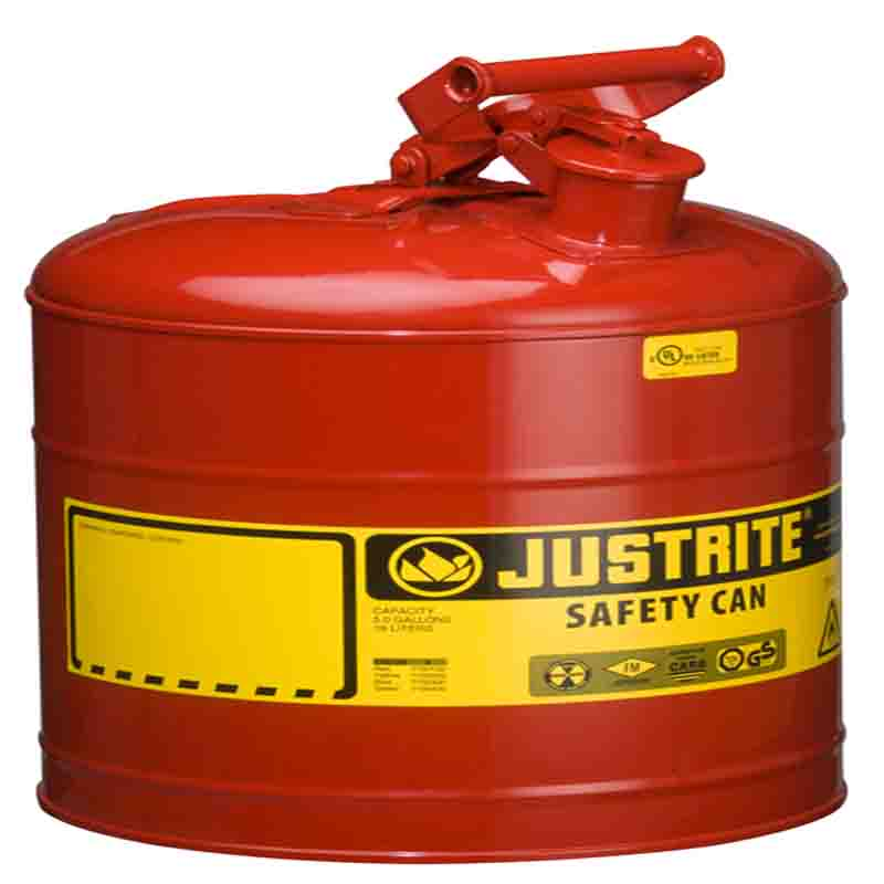 Justrite7150100  Type I Steel Safety Can For Flammables