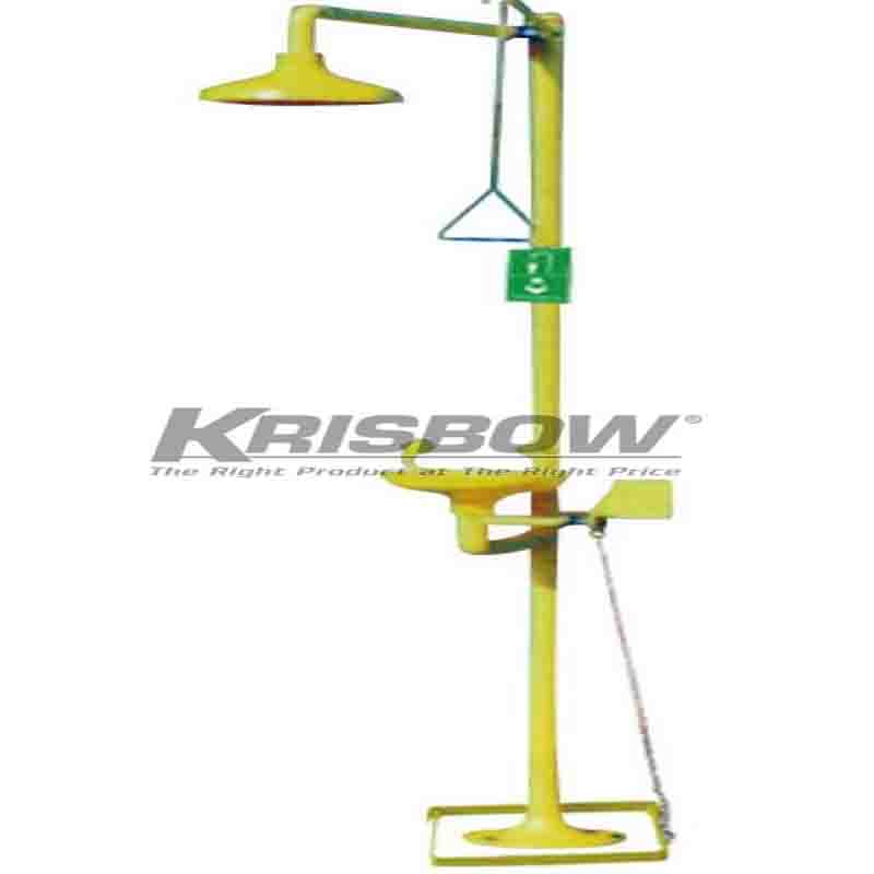 KRISBOW KW1000414 EYE AND FACE SAFETY SHOWER