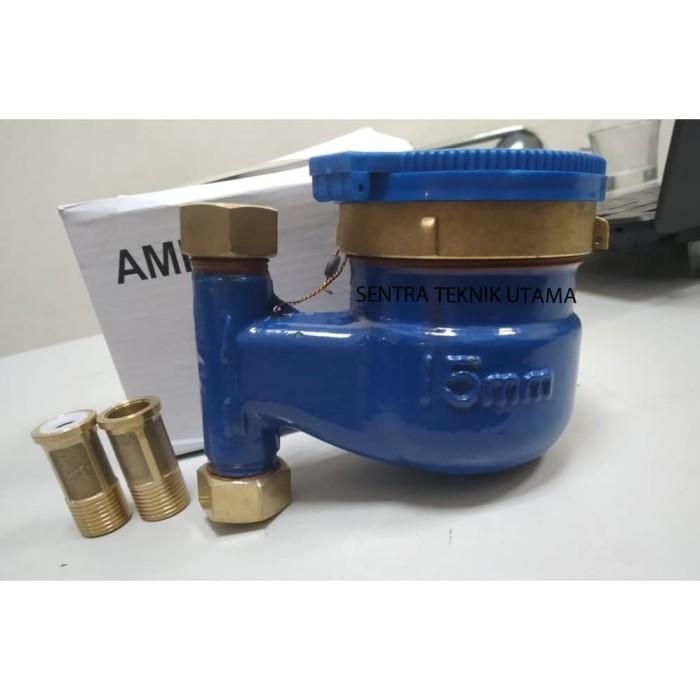 """Amico Water Meter Vertikal LXSLG 15mm 1/2""""XA"""