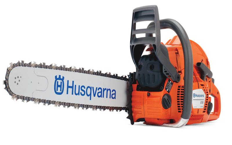 HUSQVARNA CHAINSAW 570