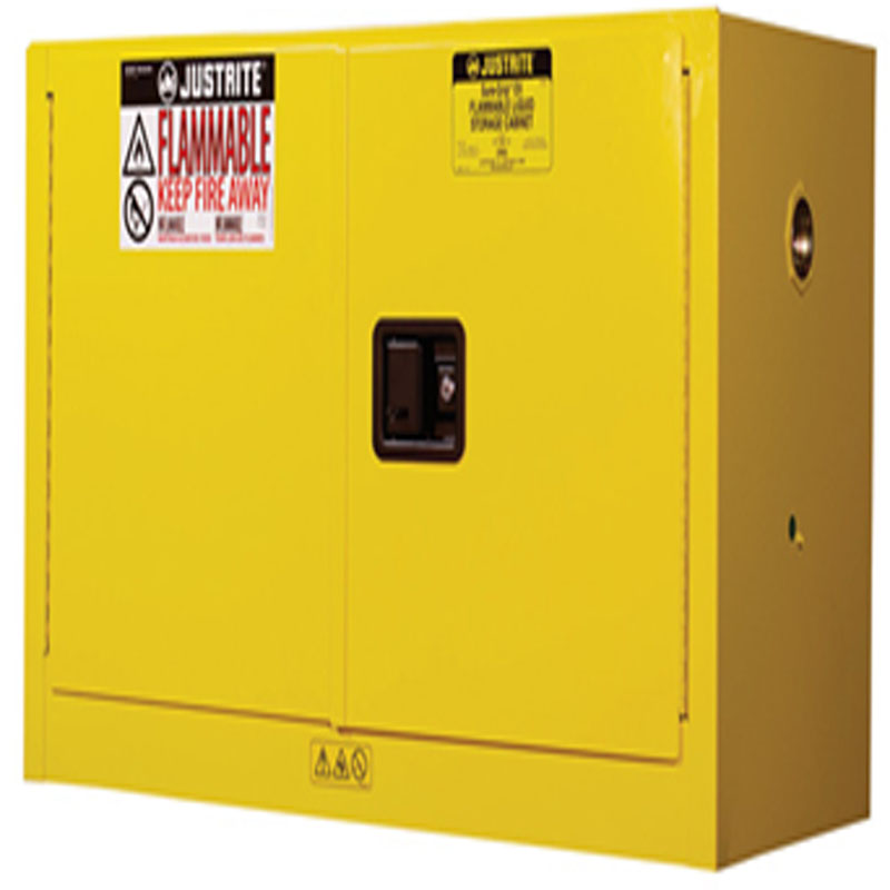 Justrite  891700 Sure-Grip® EX Piggyback Flammable Safety Cabinet