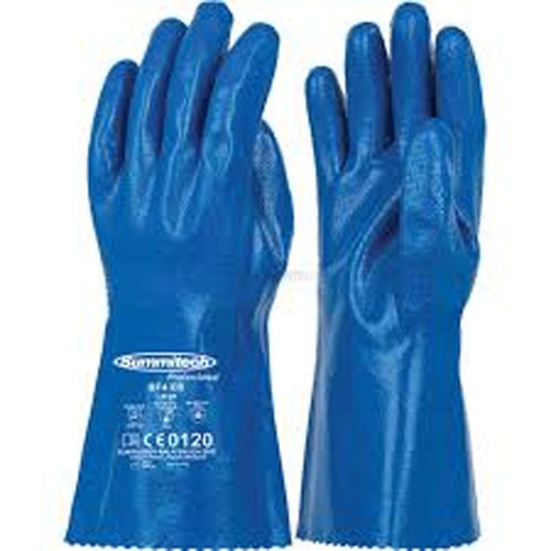 Summitech Chemical Resistant Gloves-Supported BF4 EB